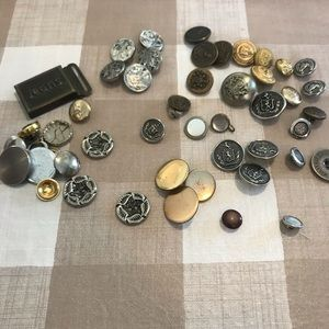 Vintage buttons lot of 35+ buttons